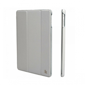 """Чехол Jisoncase Smart Leather Case  для iPad 9.7"""" 2018 года (6-е поколение) серый"""
