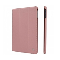 Jisoncase Smart Leather Case для iPad Air (розовый)