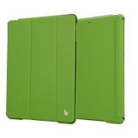 Jisoncase Premium Smart Cover для iPad Air (зеленый)