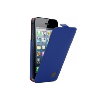 KENZO Chik Case для iPhone 5/5S кожаный (синий)