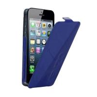 Чехол KENZO Glossy Logo Case для iPhone 5/5S (синий)