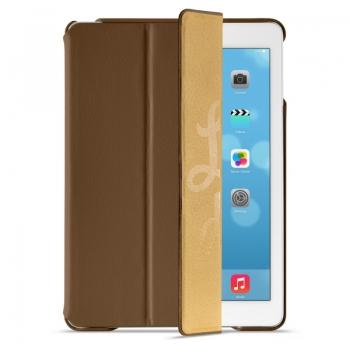 Чехол MOBLER Premium для iPad Air  коричневый