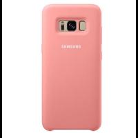 Чехол Samsung Silicone Cover для Galaxy S8+,розовый (EF-PG955TPEGRU)