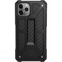 Чехол UAG Monarch Series Case для iPhone 11 Pro Max, чёрный карбон