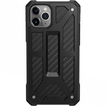 Чехол UAG Monarch для iPhone 11 Pro Max (111721114242), чёрный карбон