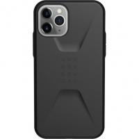 Чехол UAG Civilian для iPhone 11 Pro, чёрный (Black)