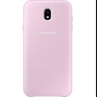 Чехол-накладка Samsung Dual Layer Cover для Galaxy J7 (2017) розовый (EF-PJ730CPEGRU)