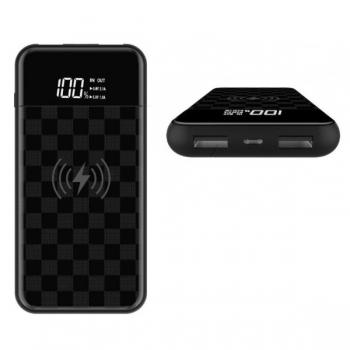 Внешний Аккумулятор Devia JU Wireless 8000 mAh черный