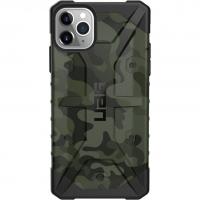 Чехол UAG Pathfinder SE для iPhone 11 Pro Max, зелёный (Forest Camo)