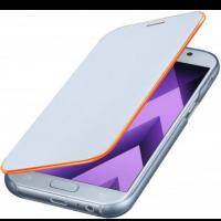 Чехол-книжка Samsung Neon Flip Cover для A7 2017 года,голубой (EF-FA720PLEGRU)