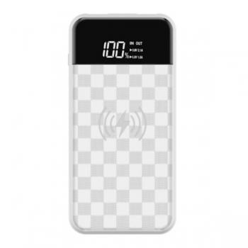 Внешний Аккумулятор Devia JU Wireless 8000 mAh белый