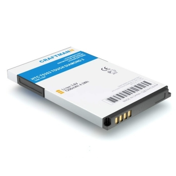 Аккумулятор Craftmann для HTC T5353 TOUCH DIAMOND 2 (TOPA160)