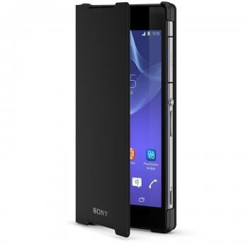 Чехол SONY SCR10 для Sony Xperia Z2 (черный)