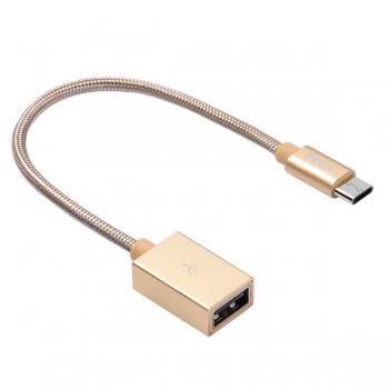 Адаптер Hoco UA3 Type-C на USB