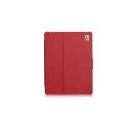 Чехол для new iPad 3 / iPad 2 / iPad 4 IcareR Distinguished Leather Series (красный)