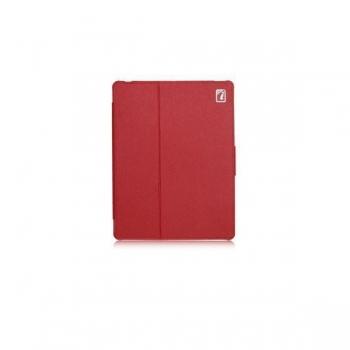 Чехол для new iPad 3 / iPad 2 / iPad 4 IcareR Distinguished Leather Series (красный)