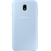 Чехол-накладка Samsung Dual Layer Cover для Galaxy J7 (2017) голубой (EF-PJ730CLEGRU)