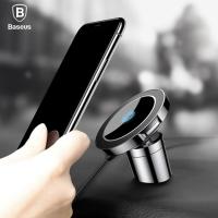 Автомобильный держатель + зарядка Baseus Big Ears Car Mount Wireless Charger WXER-01, черный