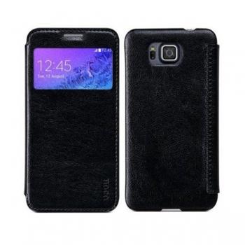 Чехол HOCO Crystal Series для Samsung Galaxy Alpha (черный)
