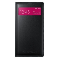 Чехол Samsung S View Wallet для Galaxy Note 4 EF-EN910FKEGRU (черный)