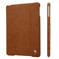 JisonCase vintage real leather для iPad Air (brown) Натуральная Кожа