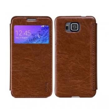 Чехол HOCO Crystal Series для Samsung Galaxy Alpha (коричневый)