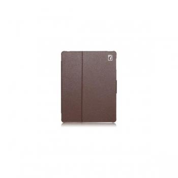 Чехол для new iPad 3 / iPad 2 / iPad 4 IcareR Distinguished Leather Series (коричневый)