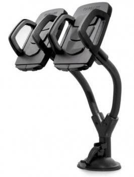 Автомобильный держатель двойной Capdase Racer Duo Black (HR00-CB01), черный