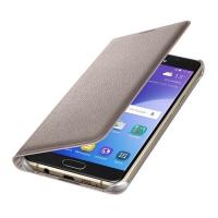 Чехол Flip Wallet EF-WA510PFEGRU для Samsung Galaxy A5 (2016) золотой