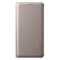 Чехол Flip Wallet EF-WA710PFEGRU для Samsung Galaxy A7 (2016) золотой