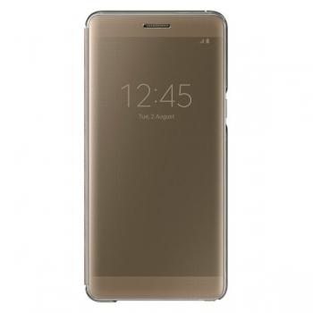 Чехол Samsung Clear View Cover EF-ZN930CFEGRU для Galaxy Note7 N930 (золотой)