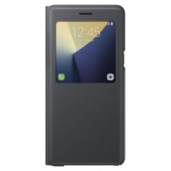 Чехол для Samsung Galaxy Note7 N930 S View Standing Cover EF-CN930PBEGRU (черный)