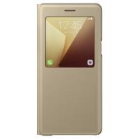 Чехол для Samsung Galaxy Note7 N930 S View Standing Cover EF-CN930PFEGRU (золотой)