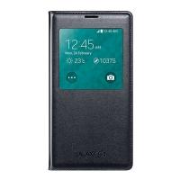 Чехол Samsung S-View EF-CG900BBEGRU для Galaxy S5 G900 (черный)