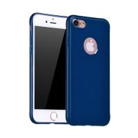 Силиконовый чехол для iPhone 7 Hoco Juice Series (синий)