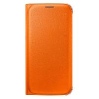 Чехол Flip Wallet EF-WG920POEGRU для Samsung Galaxy S6 (orange)