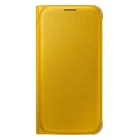Чехол Flip Wallet EF-WG920PYEGRU для Samsung Galaxy S6 (yellow)