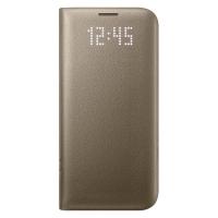 Чехол Samsung LED View Cover EF-NG935PFEGRU для Galaxy S7 Edge (золотой)