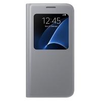 Чехол Samsung S View Cover EF-CG930PSEGRU для Galaxy S7 серый