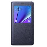 Чехол Samsung S View Cover EF-CN920PBEGRU для Galaxy Note 5 N920 (черный)