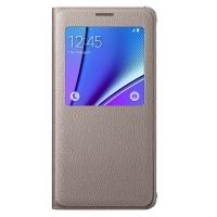 Чехол Samsung S View Cover EF-CN920PFEGRU для Galaxy Note 5 N920 (золотой)