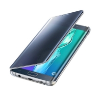 Чехол Samsung Clear View Cover EF-ZG928CBEGRU для Galaxy S6 Edge Plus (черный)