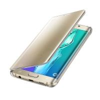 Чехол Samsung Clear View Cover EF-ZG928CFEGRU для Galaxy S6 Edge Plus (золотой)