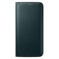 Чехол Samsung для Galaxy S6 Edge G925 Flip Wallet EF-WG925PGEGRU (green)