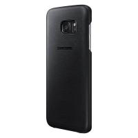 Чехол Samsung Leather Cover EF-VG935LBEGRU для Galaxy S7 Edge (черный)
