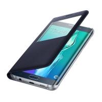 Чехол Samsung S View Cover EF-CG928PBEGRU для Galaxy S6 Edge Plus (черный)
