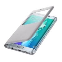Чехол Samsung S View Cover EF-CG928PSEGRU для Galaxy S6 Edge Plus (серый)