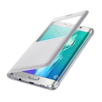 Чехол Samsung S View Cover EF-CG928PWEGRU для Galaxy S6 Edge Plus (белый)