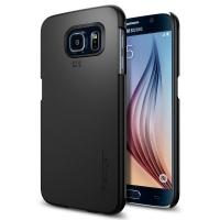 Чехол Spigen Thin Fit SGP11308 для Samsung Galaxy S6 (черный)