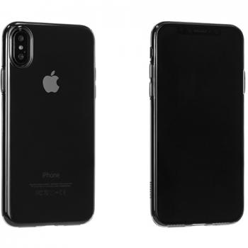 Чехол-накладка Hoco Light Series TPU для Apple iPhone X силикон, прозрачно-черный